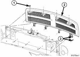 2003 dodge durango radiator how do i remove the grille on my 2004 dodge durango