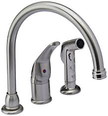 single handle kitchen faucet with sprayer kingston brass kb828k8 chatham single lever handle kitchen faucet