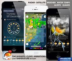 the best weather app for android top notch weather forecast and radar applications for apple iphone
