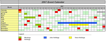 Monthly Planning Calendar Template Excel Officehelp Macro 00037 Traditional Calendars For Excel