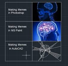 How To Make A Meme In Paint - autocad making memes know your meme
