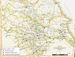 Yorkshire England Map by Rural Resistance And The Swing Riots Protest And The Politics Of