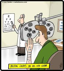 Eye Doctor Meme - don t cheat on your eye exam do it right and find out if you may