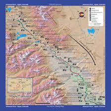 Bitterroot Mountains Map Arkansas River Digital Gps Fishing Map Bundle 2 Digtal Gps Maps