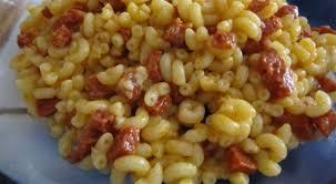 cuisiner des legumes recette de coquillettes au chorizo et aux courgettes pour bébé