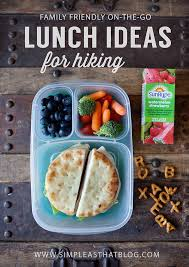 friendly on the go lunch ideas for hiking