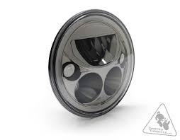 denali m7 dot led headlight u0026 adapter bracket kit for suzuki