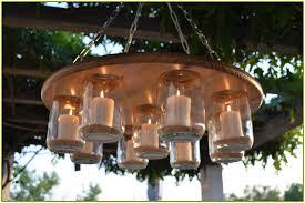 Outdoor Chandelier Diy Diy Outdoor Candle Chandelier Home Design Ideas