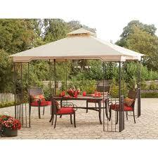 Roman Gazebo Table by Sunjoy 110101010 Rockville Aim Gazebo 10 U0027 X 10 U0027 Walmart Com