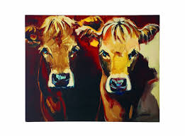 cow wall art shenra com amazon