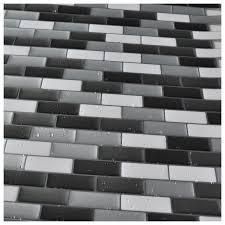 art3d peel and stick kitchen backsplash wall tile gray pack of 6