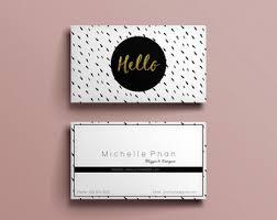 modern business card design modern business card template
