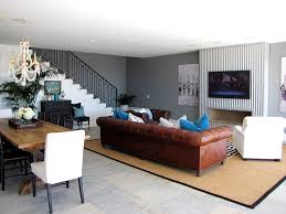 Beach Style Area Rugs Brown Velvet Sofa Family Room Beach Style With Tv Above Fireplace