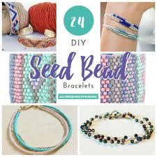 glass beads bracelet images 24 diy seed bead bracelets png