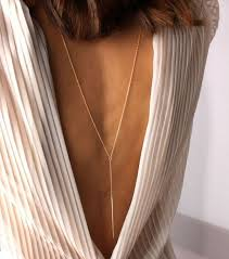 back jewelry necklace images Back necklaces that flaunt your backless wedding dress mywedding jpg