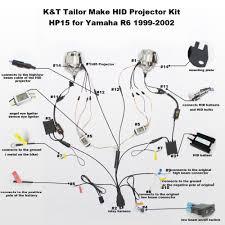 aliexpress com buy kt headlight suitable for yamaha yzf r6 1999