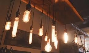lighting design trend carbon filament bulbs aka edison bulbs
