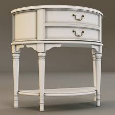 3d laura ashley console table cgtrader