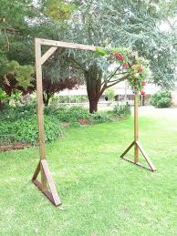 wedding arches to hire handcrafted timber wedding arch wedding ceremony ideas