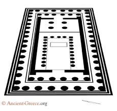 floor plan of the parthenon parthenon plan