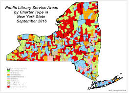 County Map New York by Public Library Service Area Maps Library Development New York
