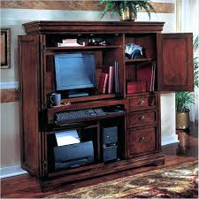 armoire solid wood computer armoire open hutch desk storage