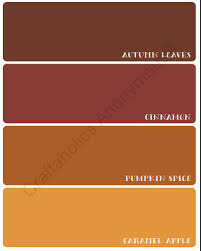 autumn paint chip fall printable autumn painting paint chips