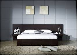 Black Platform Bed Queen Bedroom Modern Platform Bed King Size Modern Platform Beds