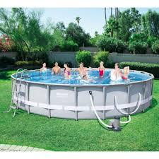 Plastic Swimming Pools At Walmart Bestway Steel Pro 20 U0027 X 48