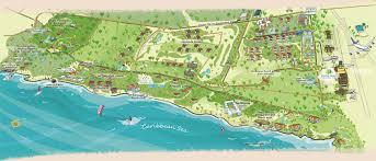 Map Of Caribbean Beach Resort by Tortuga Bay Hotel Puntacana Resort U0026 Club