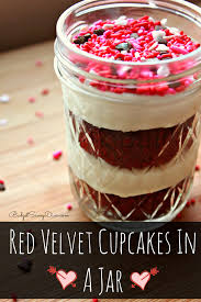 velvet cupcakes in a jar recipe