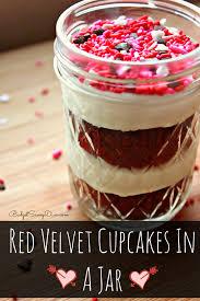 Halloween Red Velvet Cake by Velvet Cupcakes In A Jar Recipe