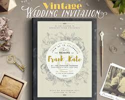 vintage style wedding invitations retro vintage style wedding invitation design by lavie1blonde on
