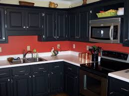 Pictures Of Black Kitchen Cabinets Black Kitchen Cabinets With Walls And Photos