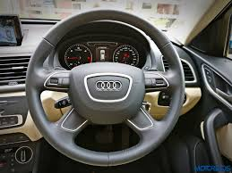 audi q3 dashboard new 2017 audi q3 facelift review 35 tdi fresh fervour motoroids
