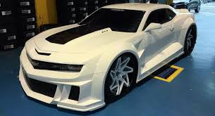 customized camaro if stormtroopers used cars this camaro zl1 would be their ride