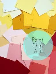 Paint Chips by Diy Paint Chip Decor Prismaticaesthetic