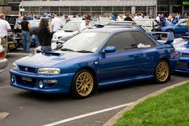 blue subaru gold rims the gt6 colour matching thread