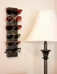 an easy diy project to hang all your sunglasses you just need some