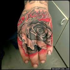 blessed rose tattoo brownpride com photo gallery bp