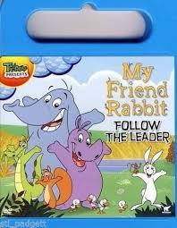 rabbit dvd my friend rabbit follow the leader in carry dvd ebay