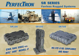 Rugged Systems Wdl Systems Perfectron Sr Series Fanless Rugged Systems