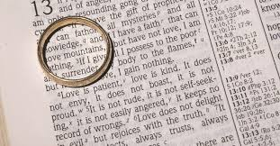 1 corinthians 13 wedding bible readings for your wedding