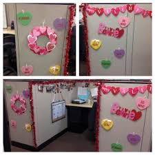 holiday cubicle decor valentines day holiday spirit