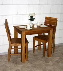 Esszimmertisch Holz Esstisch 80x75x60cm Wildeiche Massiv Geölt