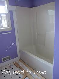 bathroom trim ideas bathroom makeover how to add decorative molding to a bathtub