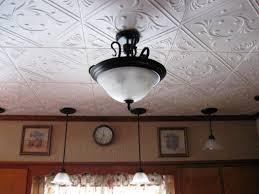 Interior Modern Decorative Drop Ceiling Tiles In Square Black