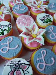 fairytale frosting lily baby shower cupcakes