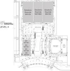 Orange County Convention Center Floor Plan Maps U2014 Executive Symposium At Cisco Live U2022 July 11 12 2016 U2022 Las