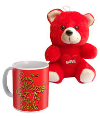 s gifts for husband sky trends best husband in the world mug and teddy s day